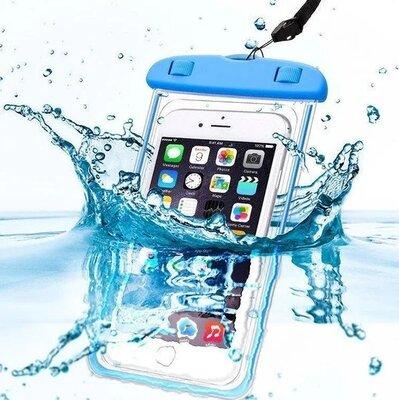 Универсальный фирменный водонепроницаемый чехол для телефона и документов подарок отдых пляж море ту