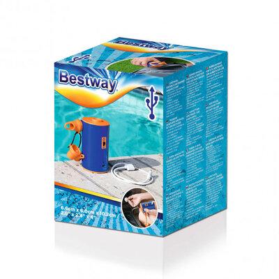 Насос для резиновых изделий Bestway 62101 на аккумуляторе