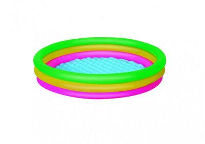 Детский надувной бассейн Bestway 51103 с надувным дном