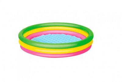 Детский надувной бассейн Bestway 51104 с надувным дном