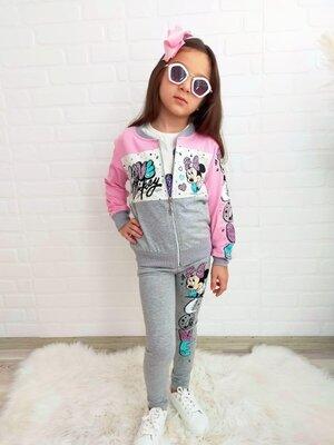 Спортивный костюм на девочку 3-ка, якісний дитячий спортивний костюм