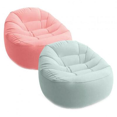 Велюр кресло Intex 68590 112-104-74см