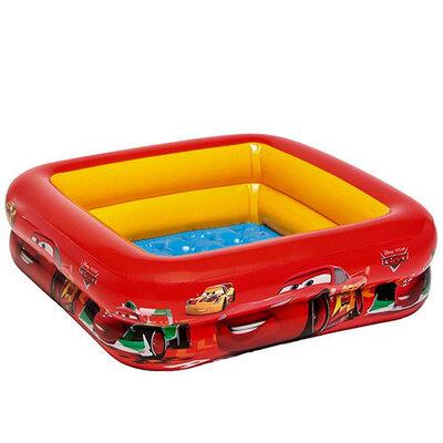 Детский надувной бассейн Тачки Intex 57101 с мягким дном