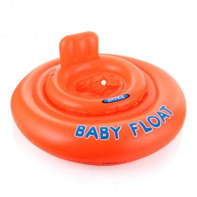 Детский надувной плотик для плавания Intex 56588P оранжевый