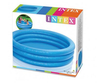 Детский надувной бассейн Кристалл Intex 58446 круглый