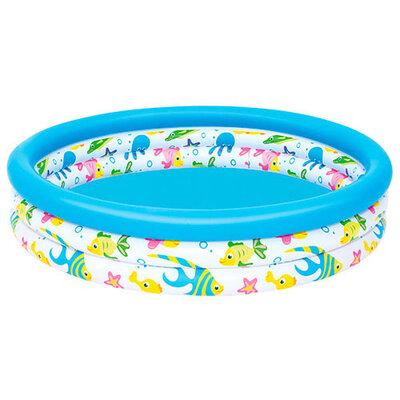 Детский надувной бассейн Океан Bestway 51009 круглый