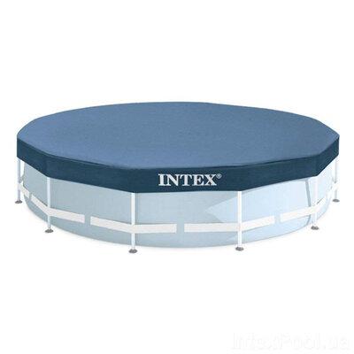 Тент - чехол для каркасного бассейна Intex 28032t
