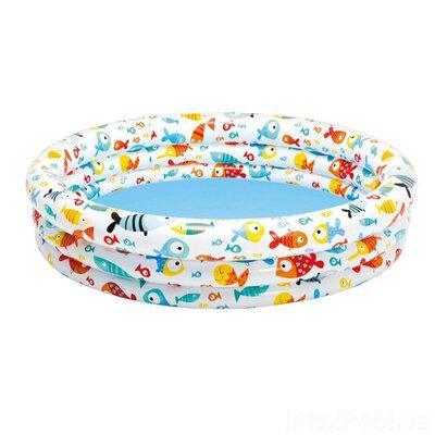 Детский надувной бассейн «Аквариум» Intex 59431t