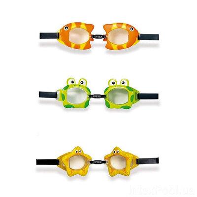 Детские очки для плавания в ассортименте Intex 55603t
