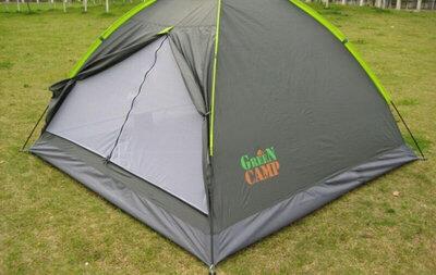 Продано: Палатка 3-местная green camp 1012