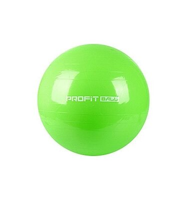 Мяч для фитнеса фитбол 65 см Profi MS 0382 салатовый