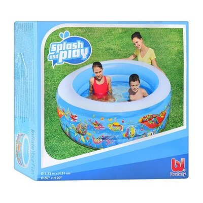 Детский круглый бассейн BW 51121 с ремкомплектом