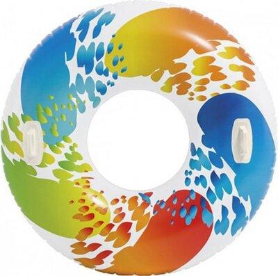 Надувной круг с ручками 58202 диаметр 119 см