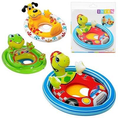 Детский Круг-Плотик для плавания 59570, 4 вида