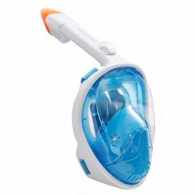Маска для снорклинга плавания Size L-XL Blue