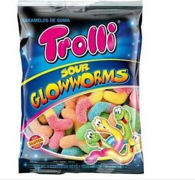 Вкуснейшие жеват. конфеты-червячки. Германия 100 грамм,без глютена