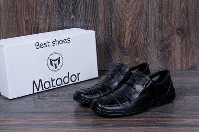 Продано: Чоловічі шкіряні літні туфлі
