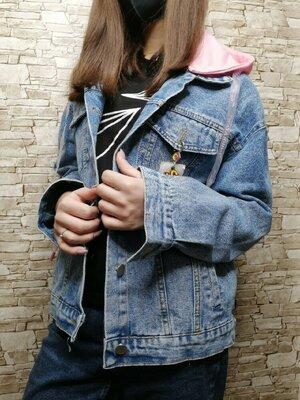 Куртка джинсова джинсовая куртка