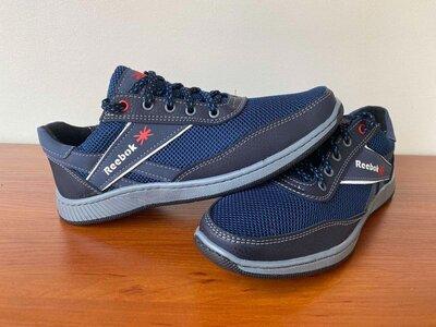 Кроссовки мужские летние весенние синие сетка - кросівки чоловічі літні весняні сині