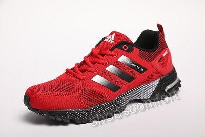 Мужские кроссовки Adidas Marathon Tr Red красные