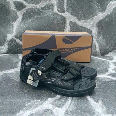 Мужские сандалии,босоножки BONA Classic черные,синие,кожаные