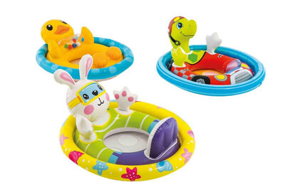 Надувной плотик intex 59570 NP,детский плотик,надувной детский круг,плотик с ножками,круг с ножками