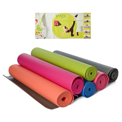 Йогамат, коврик для йоги MS 1846-2-2 толщина 4 мм