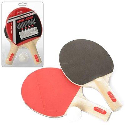 Набор для настольного тенниса Profi MS 0215, 2 ракетки и 1 мячик