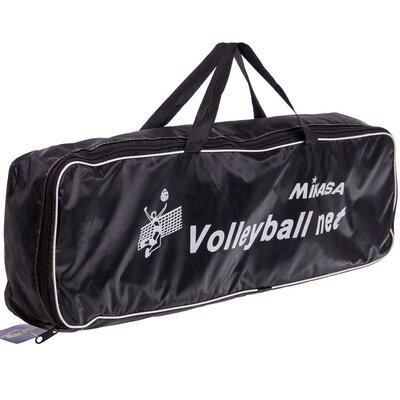 Сетка для волейбола с металическим тросом Mikasa 6889 9 x 2,43м, ячейка 12x12см