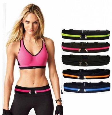 Спортивная сумка на пояс для бега Go Runners Pocket Belt спортивный пояс для телефона