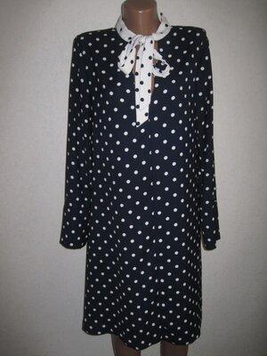 Отличное платье в горох Спенсер р-р14