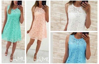 Распродажа Супер Цена Платье размеры 42-44, 44-46,48-50, 52-54 самые трендовые цвета лета