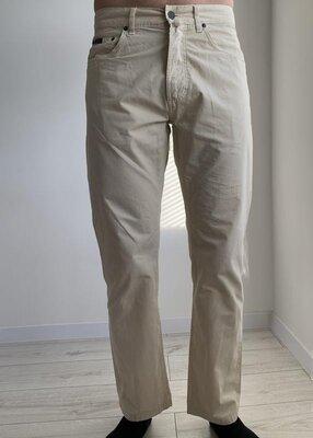 Штани білі, брюки чоловічі, мужские светлые брюки, бежевые штаны, молочные штаны.