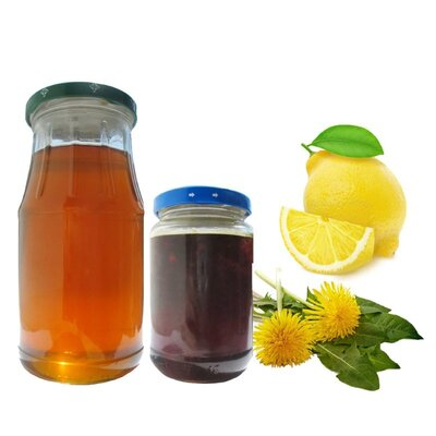 Варенье из одуванчика с лимоном 0,2 л домашняя деликатесная консервация варення з кульбаби