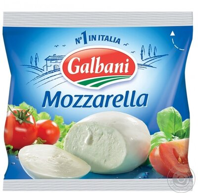 Сыр Моцарелла Sottile Gusto Mozzarella 220/125 г Польша .