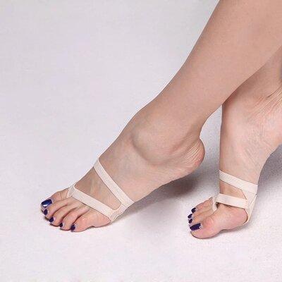 Накладка протектор на переднюю часть стопы. для танцев, гимнастики, фитнеса.