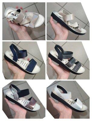 Босоножки сандалии нарядные белые белый для девочек девочки розовые розовый серебро серебристые