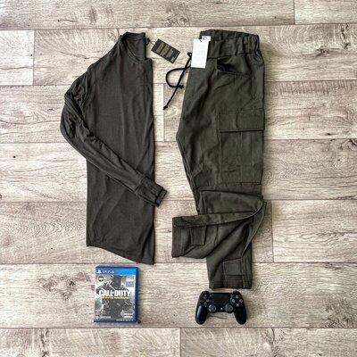 Комплект штаны и лонгслив