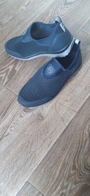 Синие мужские кроссовки, сині чоловічі кросівки легкі та зручні