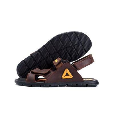 Мужские кожаные сандалии Reebok NS brown