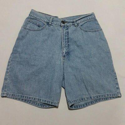 Люкс, бренд стильные джинсовые шорты высокая посадка pino gino