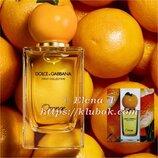 Безумно сочная новинка-D&G Orange-Бесконечное наслаждение Свежесть морского бриза и сочные цитрусы