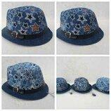 Новая детская шляпа 52-54