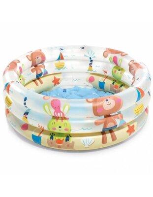 Детский надувной бассейн надувное дно Intex