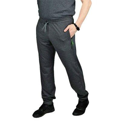 мужские трикотажные брюки штаны на весну-осень в размере l xl 2xl 3xl