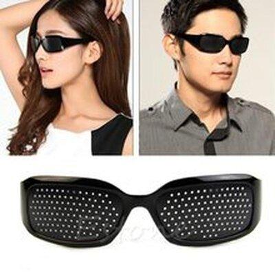 Очки-Тренажеры для улучшения зрения, перфорационные очки