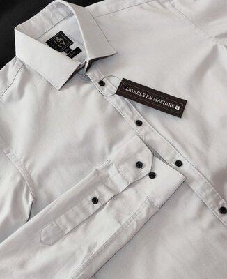 Качественная брендовая рубашка Taylor&wright этикетка