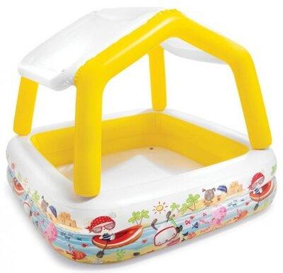 Детский надувной бассейн Бассейн со съемной крышей, 57470, 157-122 см