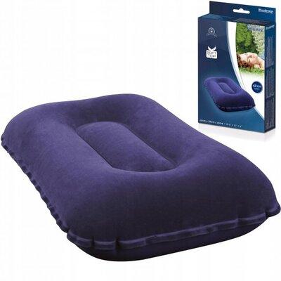 Надувная подушка BW 67121 синий велюр