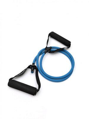Резиновый трубчатый эспандер TR-9 с ручками, синий 9 кг